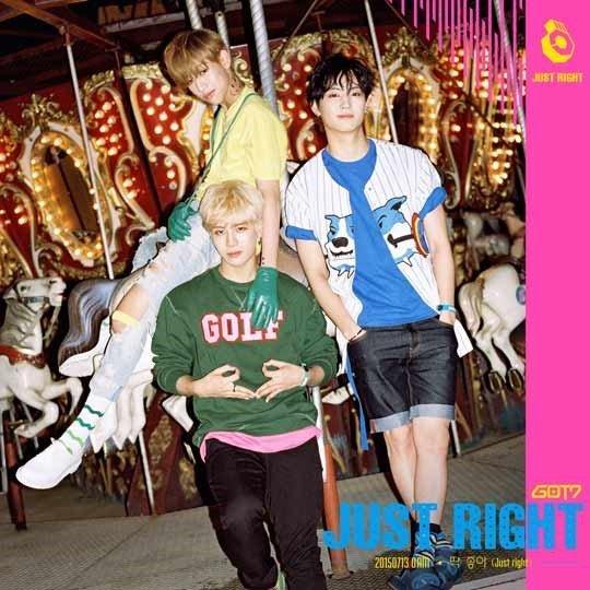 GOT7 Just Right Jackson Bambam JB