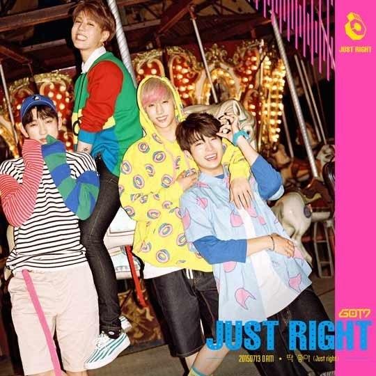 GOT7 Just Right Mark Junior Youngjae Yugyeom