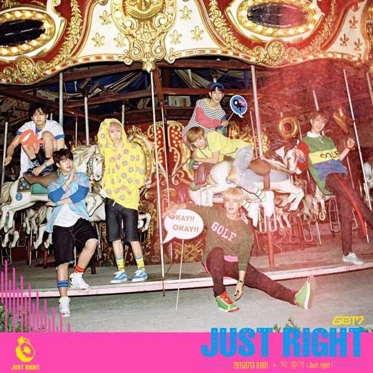 GOT7 Just Right group teaser