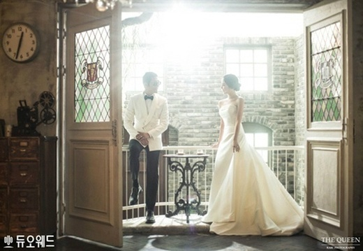 gods joon park unveils his beautiful bride and wifeto