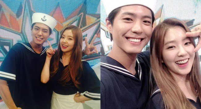 Irene and Park Bo Gum's onscreen chemistry sparked a number of rumors and fan fictions.