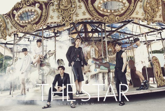 VIXX The STAR July 2015