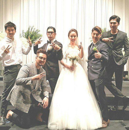 park joon hyung wedding