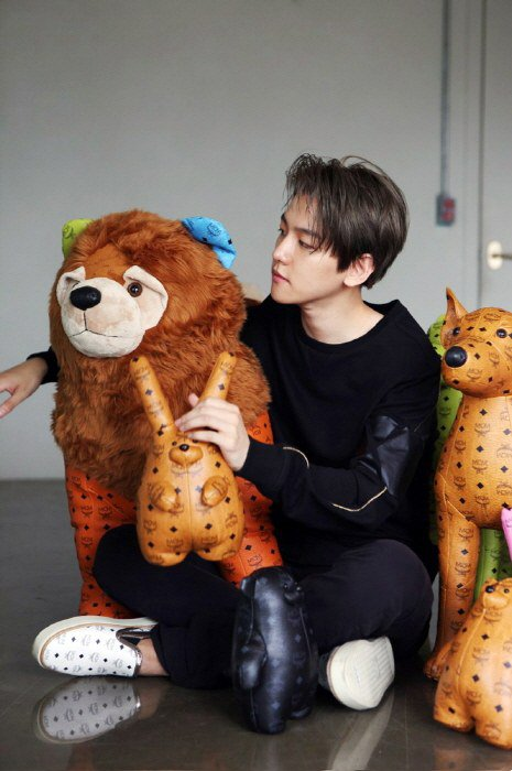 EXO X MCM Baekhyun