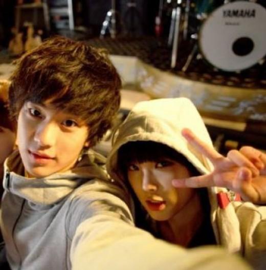iu kim soo hyun 4 years