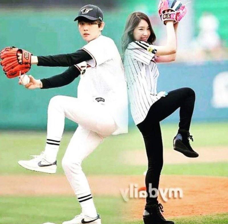 Taeyeon baekhyun dating sm