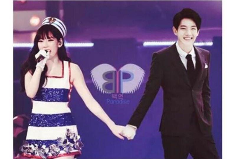 baekhyun and taeyeon relationship 2015