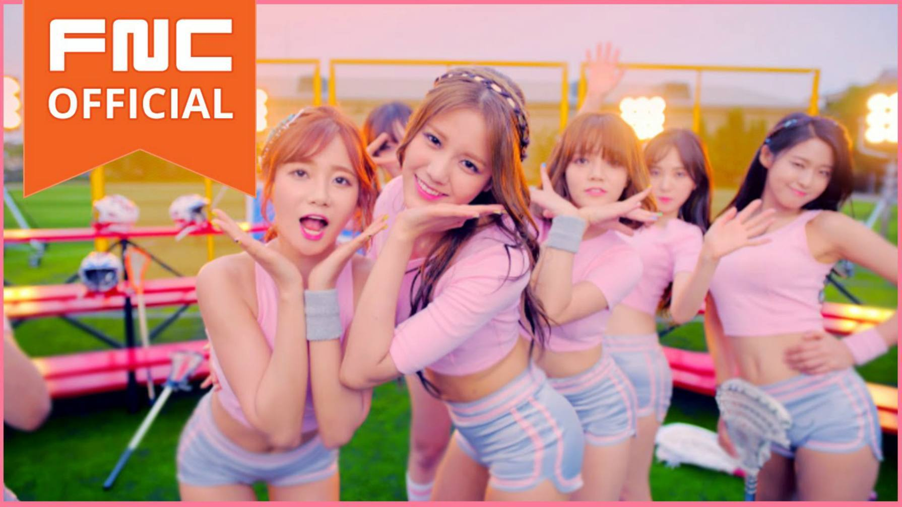 aoa members are sparkling beauties in special video for heart attack