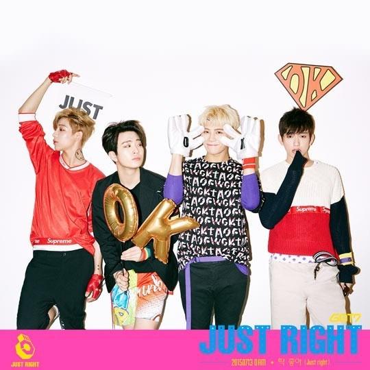 GOT7 Bambam Youngjae Jackson Junior Just Right
