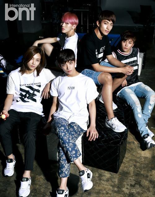 Vocal Team (L to R): Jeonghan, Joshua, Woozi, DK, Seungkwan