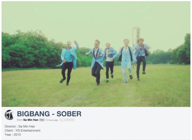 """BIGBANG """"Sober"""" Han Sa Min"""