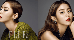 ELLE Korea's August 2015 issue