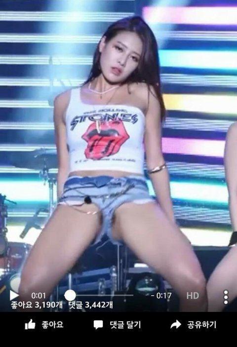 Korean kpop bambino wearing no panties slow motion 4