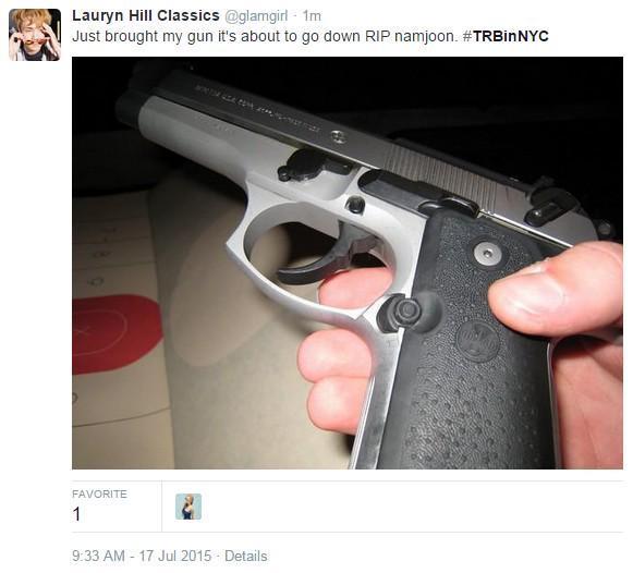 gun post