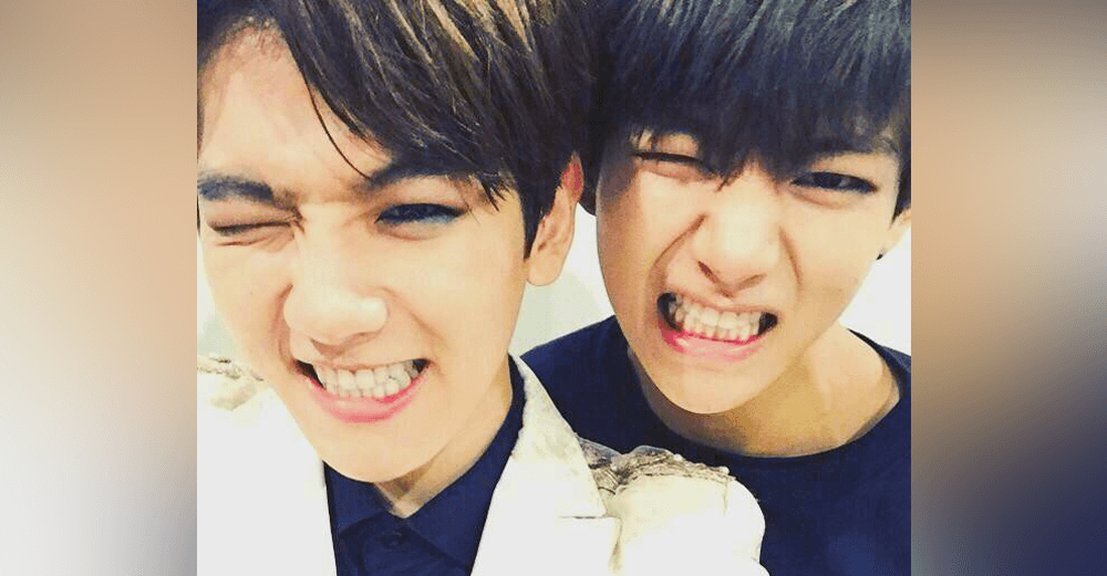 Netizens accuse boy group 24K and member of copying EXO ... V And Baekhyun And Daehyun