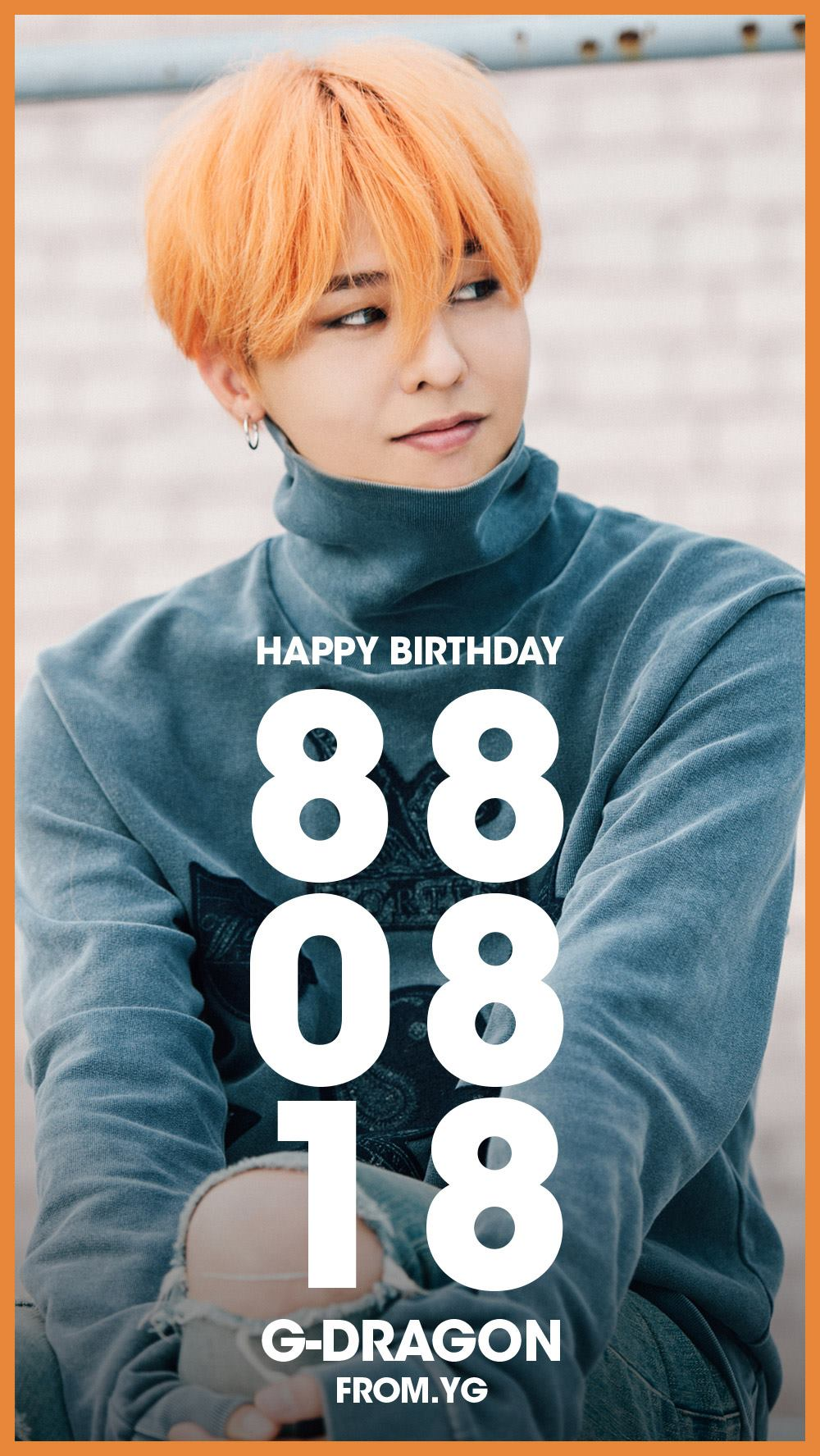 G Dragon Bigbang Fashion Nail Art Sticker Kpop Star Gift: YG Entertainment And Fans Celebrate BIGBANG Leader G