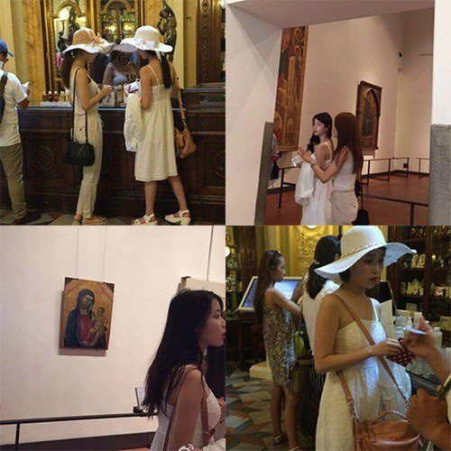 IU Yoo In Na Italy