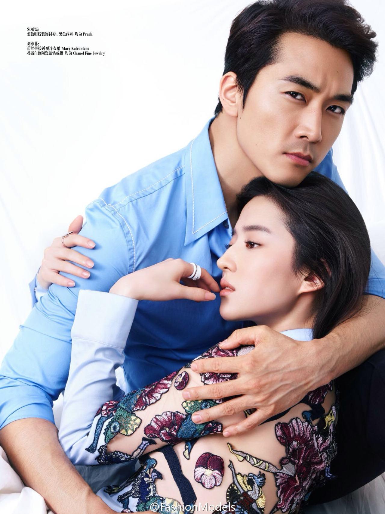 Liu Yi Fei Boyfriend >> Netizens react to news of Song Seung Hun and Liu Yifei's relationship