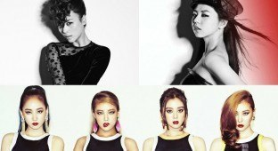 Wonder Girls with Sunye and Sohee
