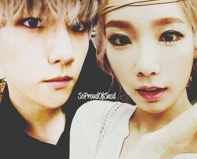 Netizens rave over Baekhyun and Taeyeon's couple photos