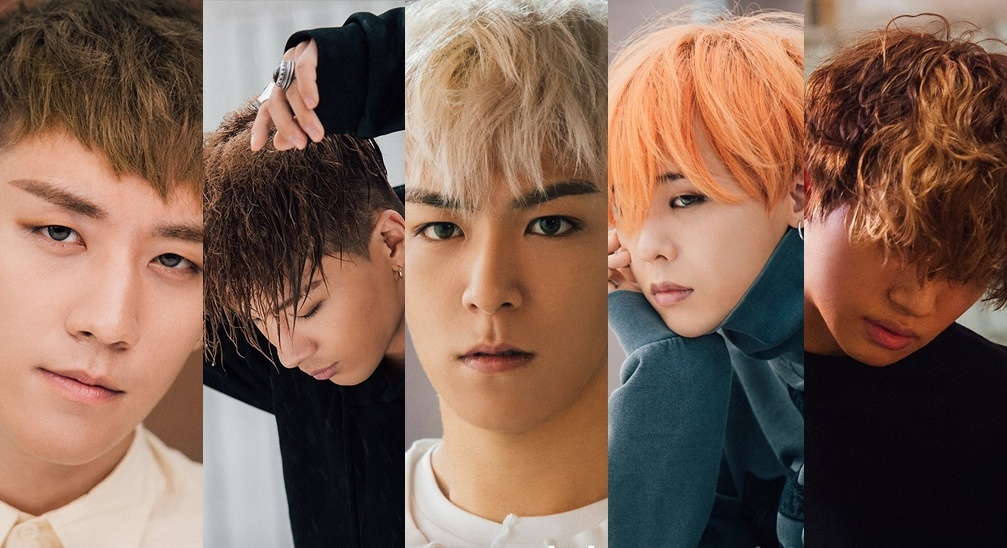 """Image: BIGBANG for """"Let's Not Fall In Love"""" / YG Entertainment"""