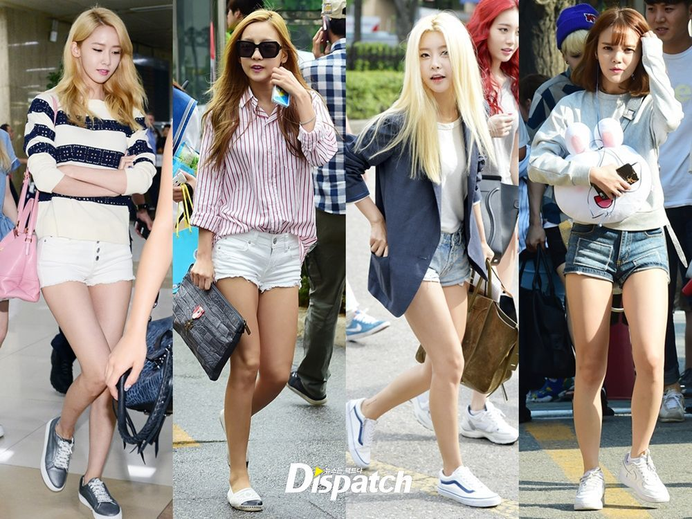 Dispatch Compiles Photos Of Female Idols With Summer Fashion