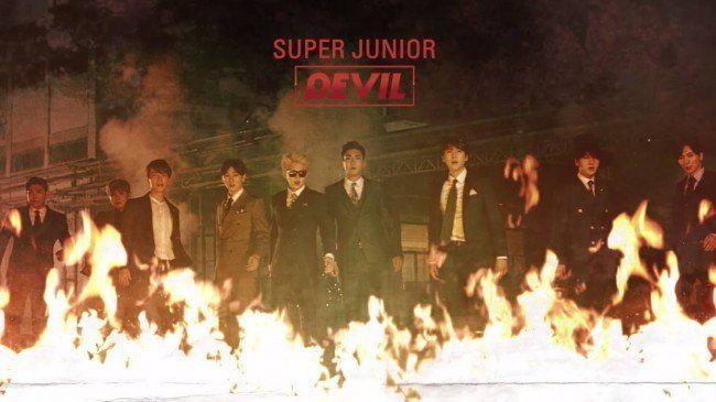 """Super Junior's """"Devil"""" MV"""