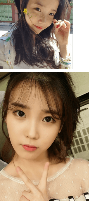 Female Celebrities that're good at taking selcas