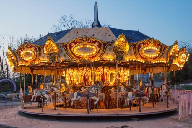 Merry-Go-Round-at-Night