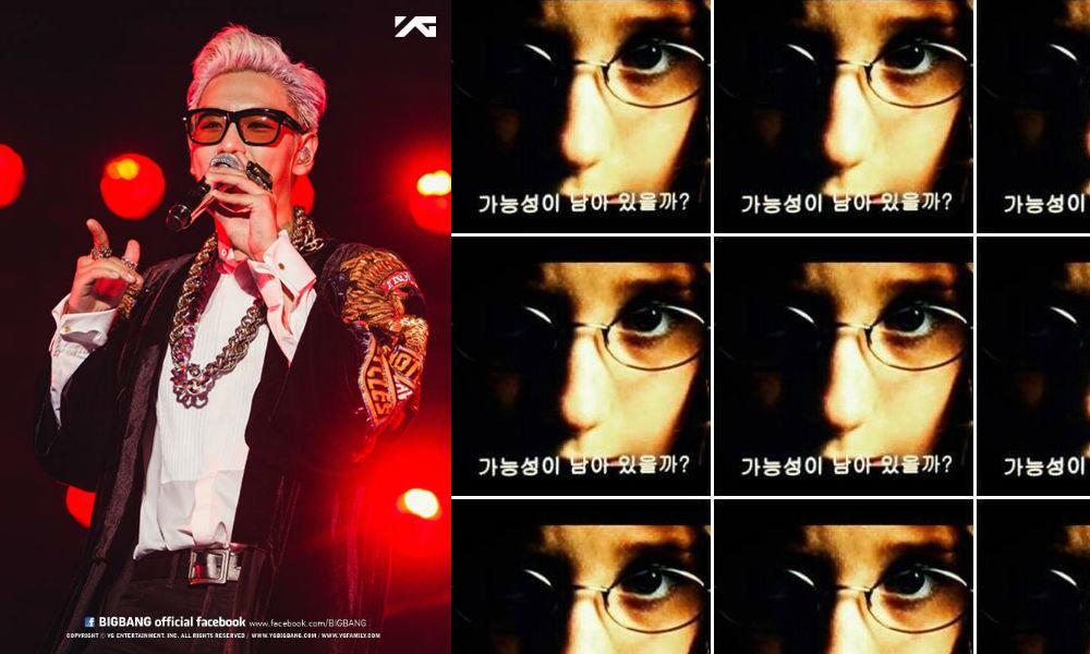 Image: BIGBANG's Facebook (YG Entertainment) / Instiz