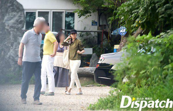Kim Haneul bersama kekasihnya (Dispatch)