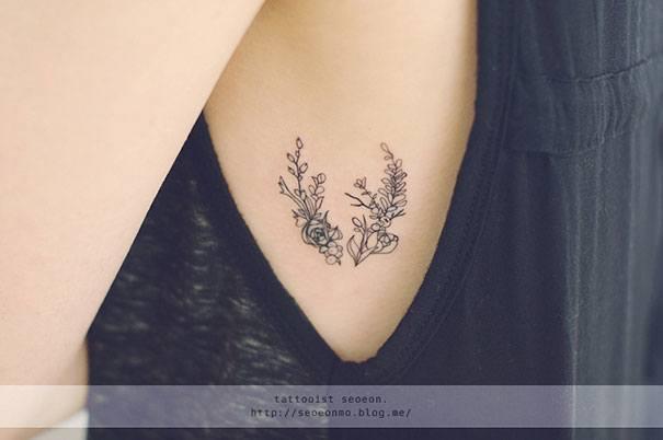 Branch Tattoo By Seoeon