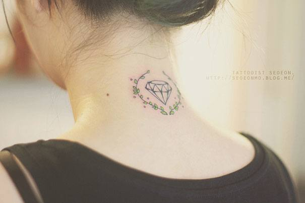Diamond Tattoo By Seoeon