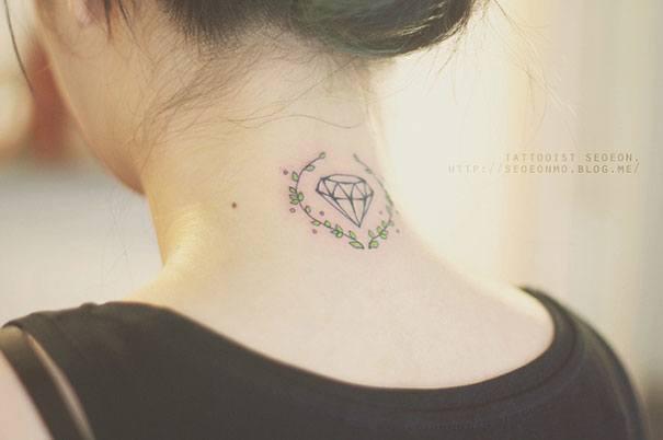 Diamond Tattoo By Seoeon