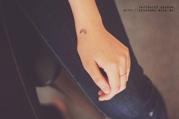 Moon Tattoo By Seoeon