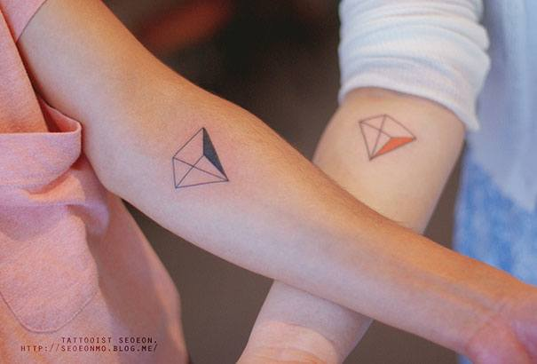Pyramid Tattoo By Seoeon