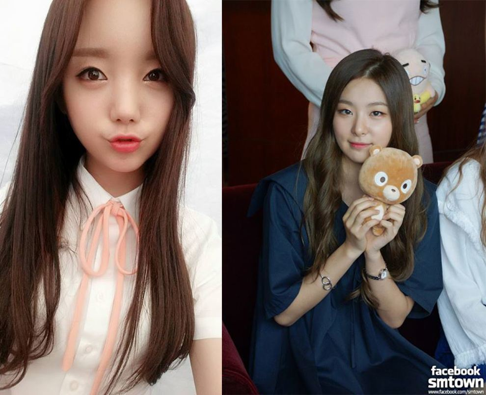 Red Velvet and Lovely'z Facebook Pages