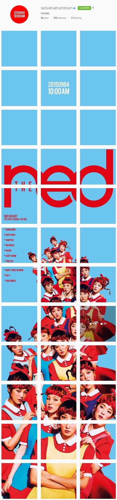 Red Velvet's Official Instagram