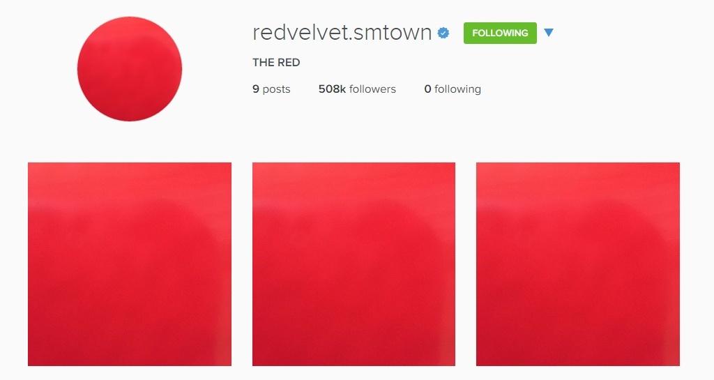 Red Velvet's Instagram