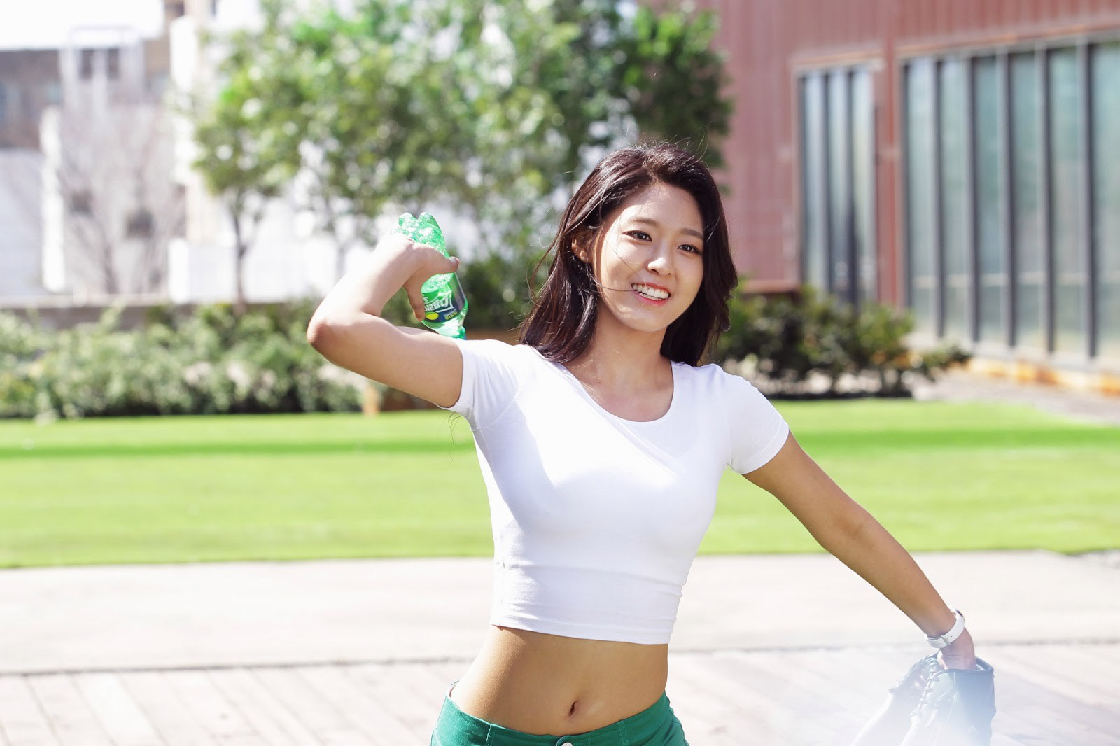 Seolhyun hits a home run with another legendary CF — Koreaboo