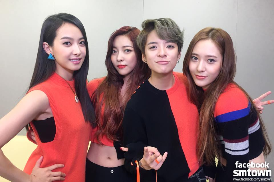 F X Receives Mixed Reactions Over Quot 4 Walls Quot Stage Performance