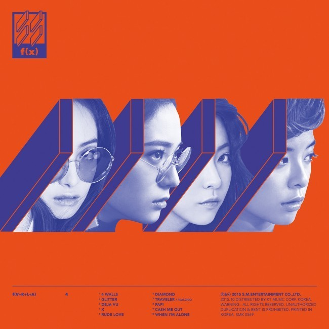 "f(x)'s released ""4 Walls"" in October last year."
