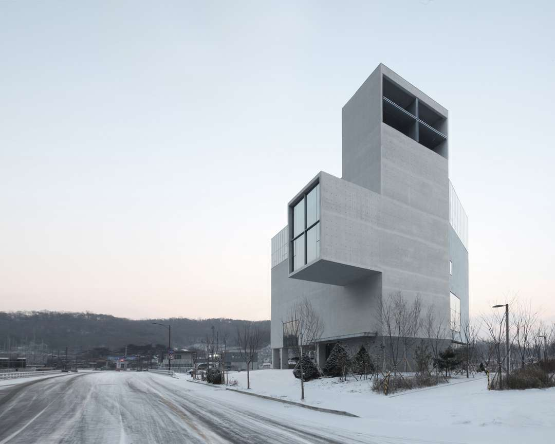 RW Concrete Church by NAMELESS Architecture, Seoul, South Korea