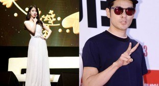 Image: IU's Facebook (left) / TVReport (right)