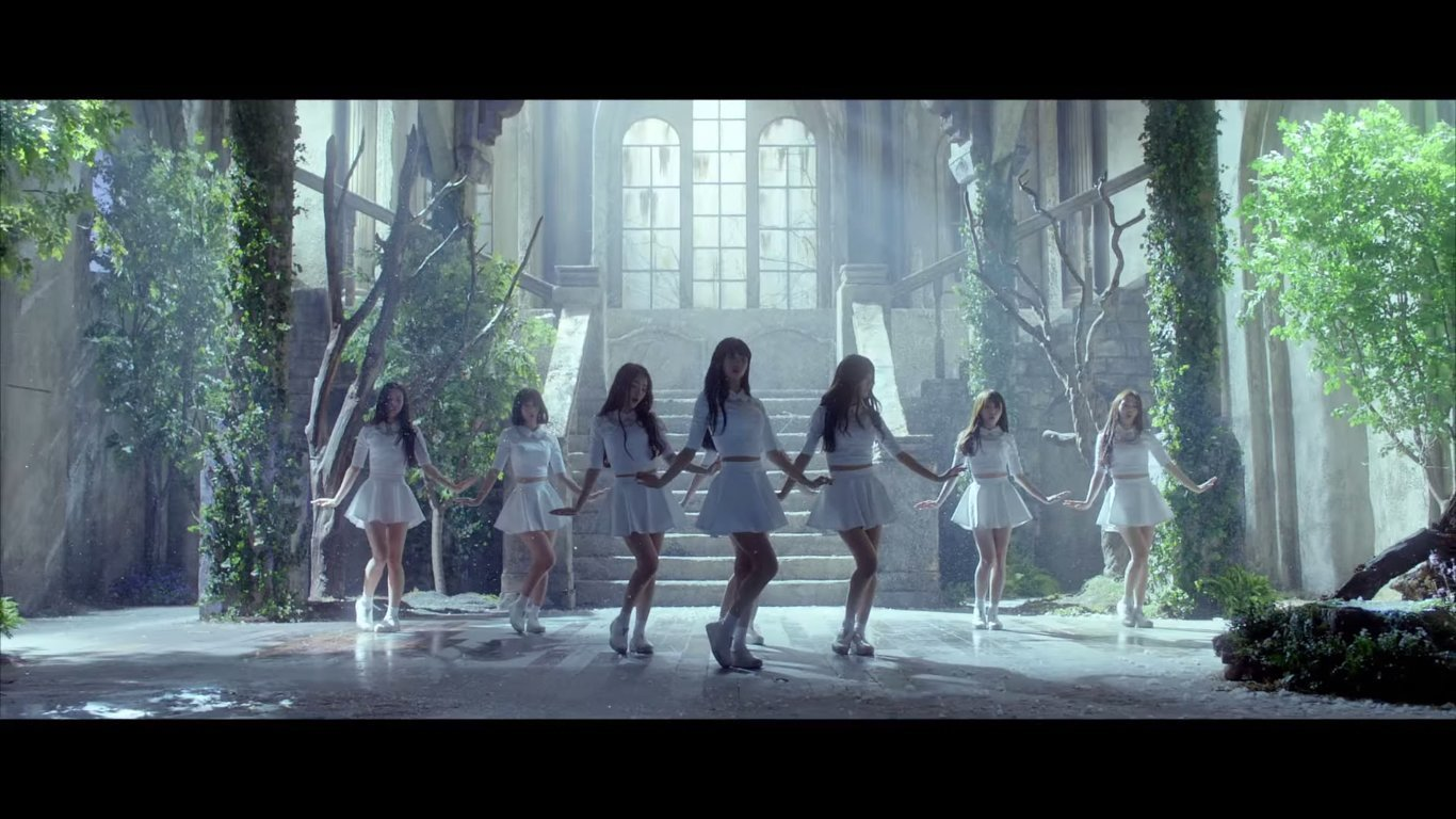 oh my girl lives up to expectation in dreamy and topnotch