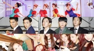 SM - YG - JYP Entertainment
