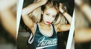 Yubin's Instagram