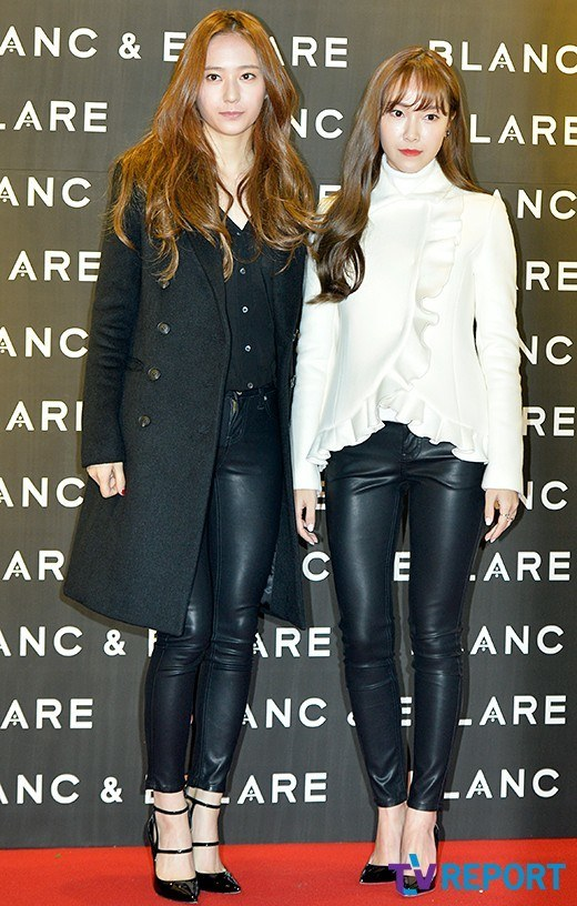 F X 39 S Krystal Supports Jessica Jung 39 S Blanc Eclare Launch In Seoul