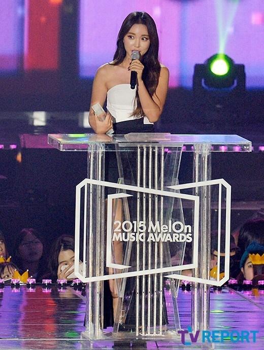 Hong Jin Young MelOn Music Awards