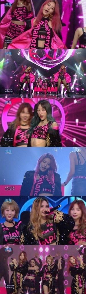 Image: SBS Inkigayo / Newsen
